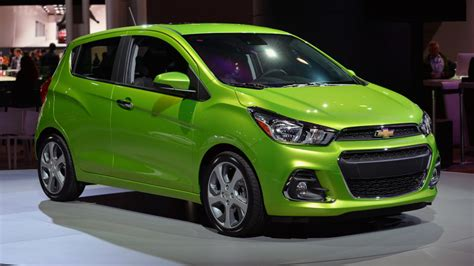 2016 chevrolet spark gleams in green in new york autoblog