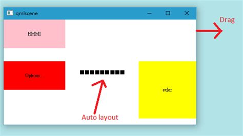 qml layout border qt how to put a rectangle in a particular row and column