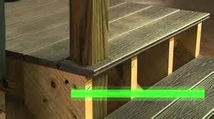 Handrails For Decking How To Install Trex Select Railing Stairs Hd Youtube