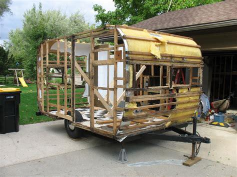 travel trailer restoration ideas жилой модуль автодома стр 1 самодельные технический
