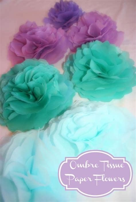 tissue paper flower craft ideas 38 how to make paper flower tutorials so pretty tip