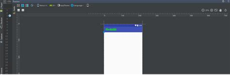 android layout not updating layout refresh is not available in android studio 2 2