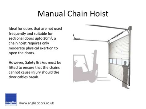 Overhead Door Safety Safety Device Options For Sectional Overhead Doors