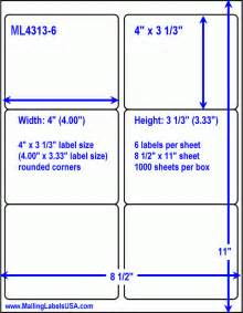 Avery Labels 5164 Template by White Shipping Labels Laser Shipping Labels Similar To