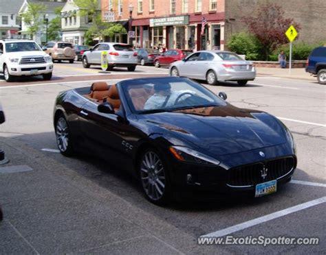 Maserati Cleveland by Maserati Grancabrio Spotted In Cleveland Ohio On 05 18 2013