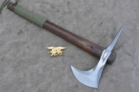 Seal Sharp 1 forged navy seal spike tomahawk by mccoun