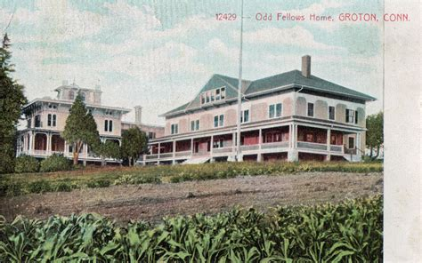fellows home groton ct postcards net