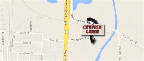 location directions to the best catfish restaurant in