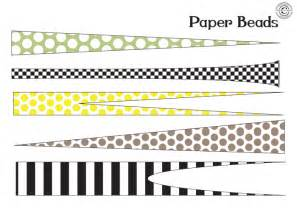 bead templates 1000 images about paper on paper