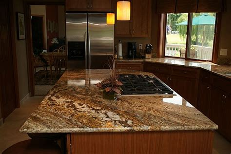 Golden Granite Countertops by The Granite Gurus Slab Sunday Golden Granite