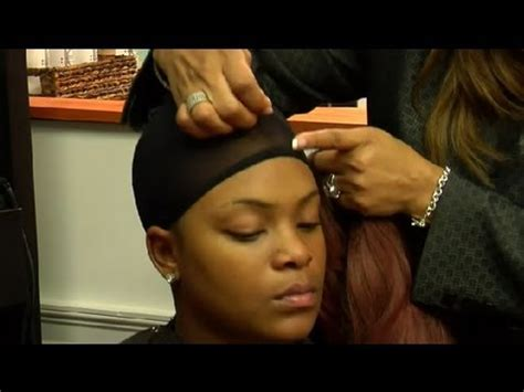how to protect african american hair under a wig : african
