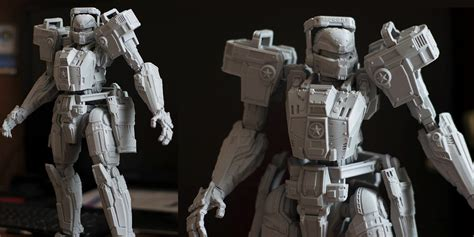 figure articulation 3d printed articulated titan rec figurine proves that