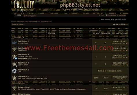 phpbb forum yvm call of duty phpbb style freethemes4all
