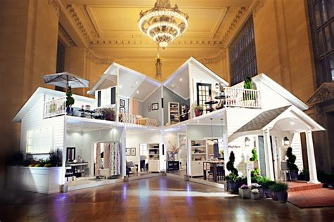doll house at target ad of the day target builds a giant dollhouse inside grand central adweek