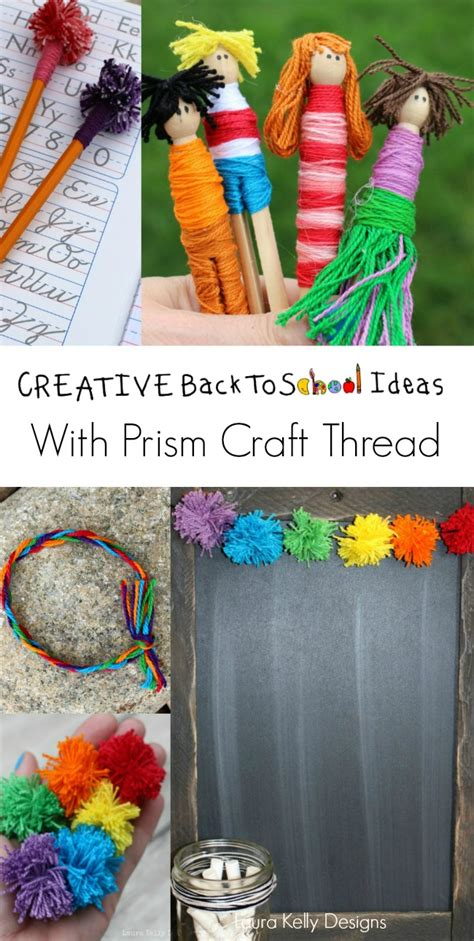 craft thread projects creative back to school ideas with craft thread