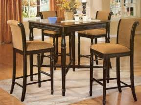High Kitchen Tables And Chairs High Top Kitchen Tables Myideasbedroom