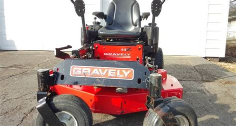 gravely commercial  turn mower kawasaki motor