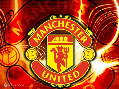tutorial logo manchester united england football logos manchester united fc logo picture