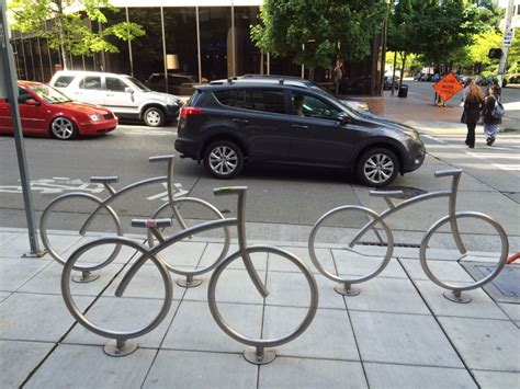 Bike Racks Seattle by Your Picture Of A Cool Bike Rack Design The
