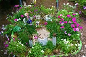 Fairy Gardens In Containers - fairy garden in a wheel barrow 1001 gardens