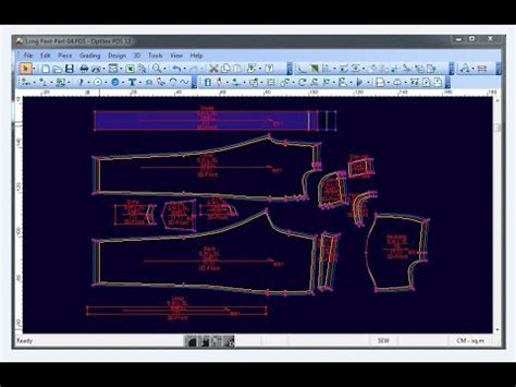 accumark pattern design software tutorial gerber accumark pattern making lesson doovi