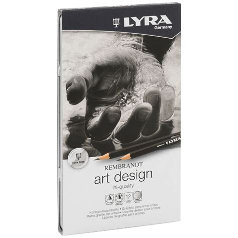Lyra Rembrandt Design 12 Pcs lyra rembrandt design pencils 12 pack officeworks