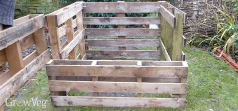 Pallets Bed Frame How To Make A Compost Bin From Pallets