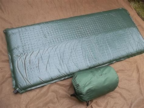 thermal comfort self inflating mattress british army inflating sleeping mat 187 forest army surplus