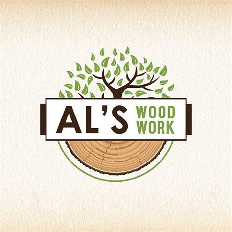 woodworking logo design tree logo wood logo design woodworking logo forestry