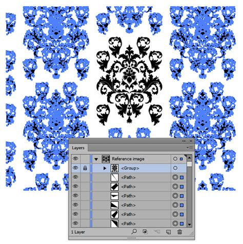 illustrator ungroup pattern recycle one pattern into nine new patterns with