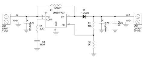alimentatore 12v 5v 5v to 12v step up dc dc converter electronics lab