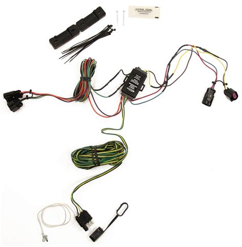 wiring harness for towed vehicle lights wrangler a c