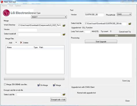 tutorial flash kdz lg kdz fw update offlinefix zip