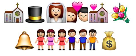 Wedding Emoji by Emoji Wedding Emojis