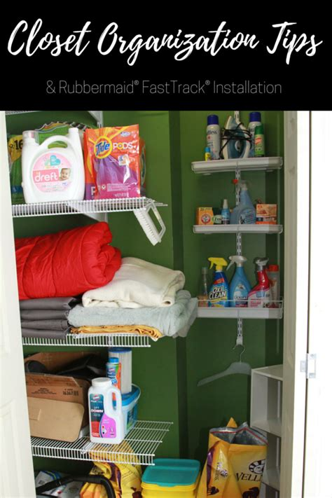Rubbermaid Fasttrack Pantry Kit by Closet Organization Tips Installing Rubbermaid 174 Fasttrack