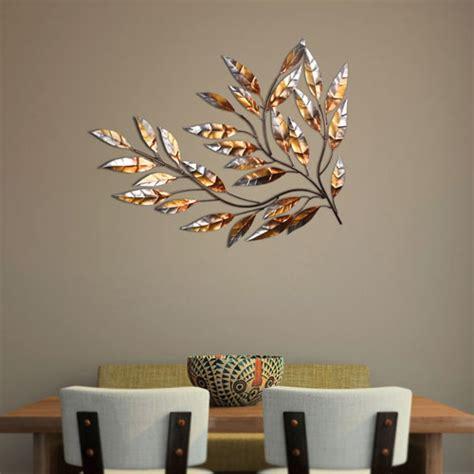 Silver Leaf Decoration by Wall Decor New Silver Leaf