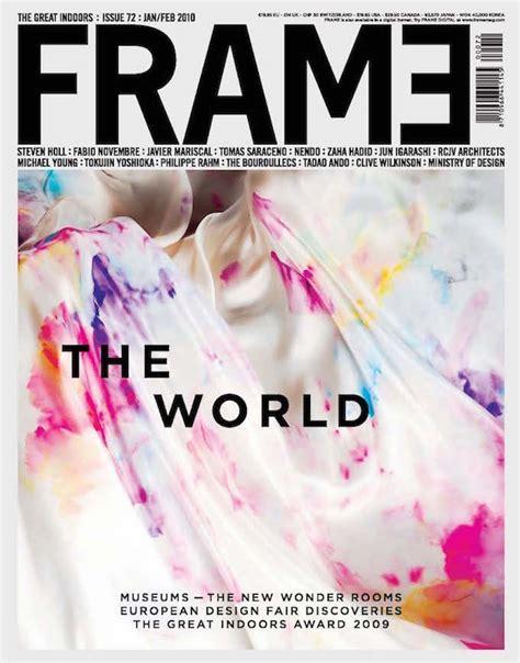frame design mag top 100 interior design magazines that you should read