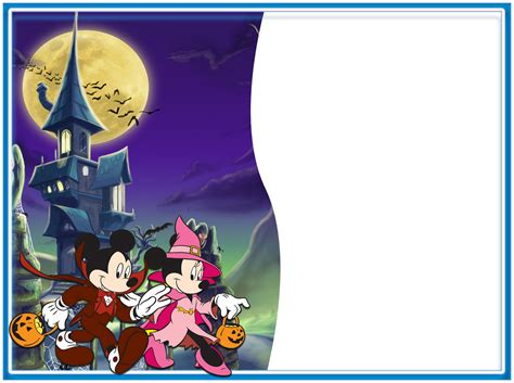 imagenes de halloween infantiles marcos para fotos de halloween mickey winnie the pooh