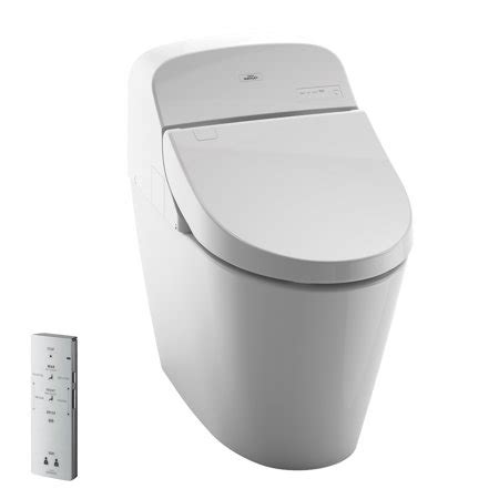 Toto Toilet With Bidet by Toto 174 Washlet 174 G400 Bidet Seat With Integrated Dual Flush