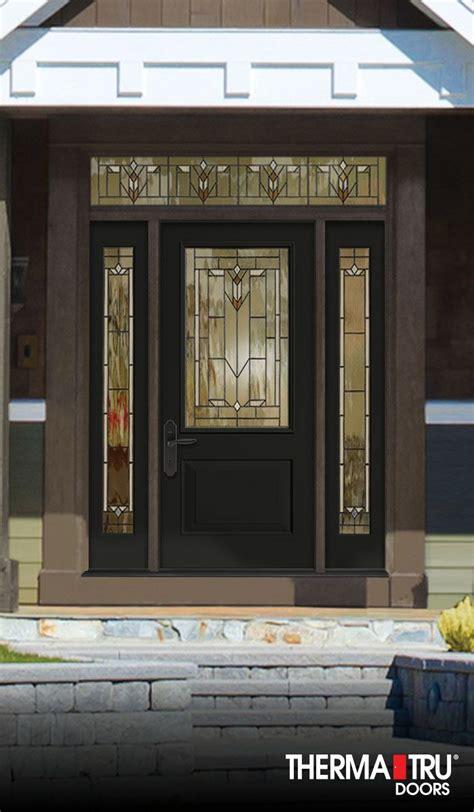therma tru classic craft canvas collection fiberglass door