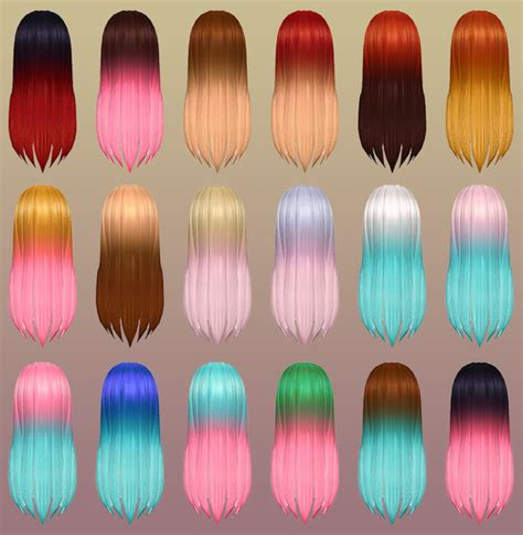 hair color to download for sims 3 notegain 187 sims 4 updates 187 best ts4 cc downloads