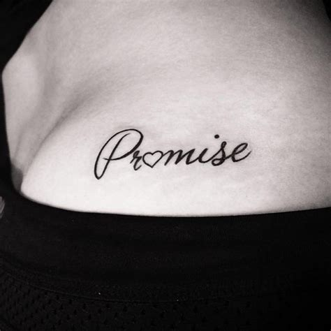 promise tattoo 15 promise ideas you shouldn t