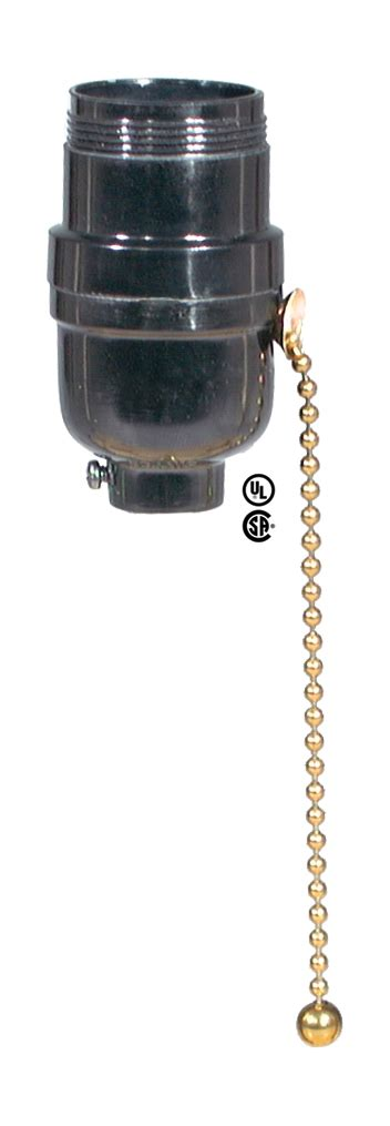 pull chain l socket leviton brand bakelite pull chain socket 40262 b p l