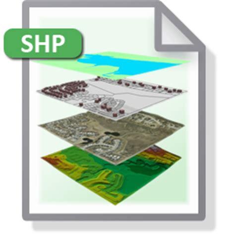 understanding shapefile (.shp) file format gis resources