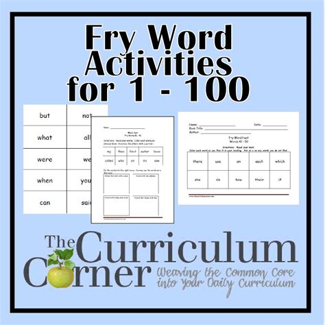 fry instant phrases printable flash cards fry first hundred printables 1 100 the curriculum