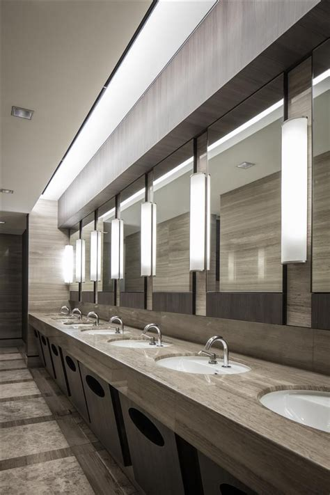 Commercial Bathroom Design 1000 Commercial Bathroom Ideas On Pinterest Dropped Ceiling Restroom Design And Bathroom