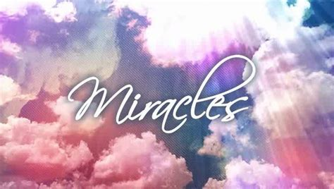 Miracle Of a letter to miracles damsels in success