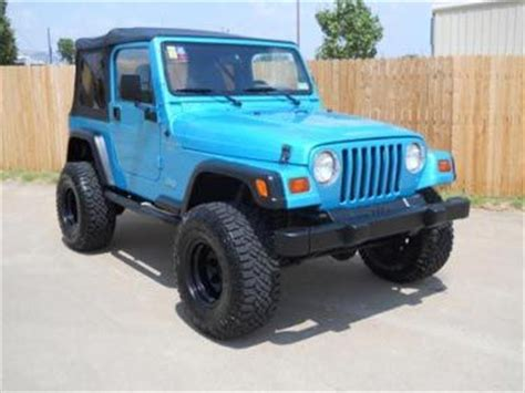 jeep wrangler turquoise for sale bright aqua jeep wrangler for sale used jeep wrangler