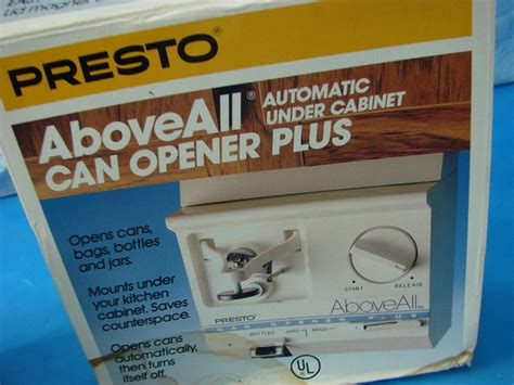 under cabinet can opener lowes presto aboveall can opener jar bag knife sharpener under