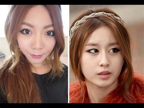 tutorial makeup jiyeon t ara jiyeon makeup youtube